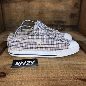 Converse One Star Plaid Canvas Sneaker